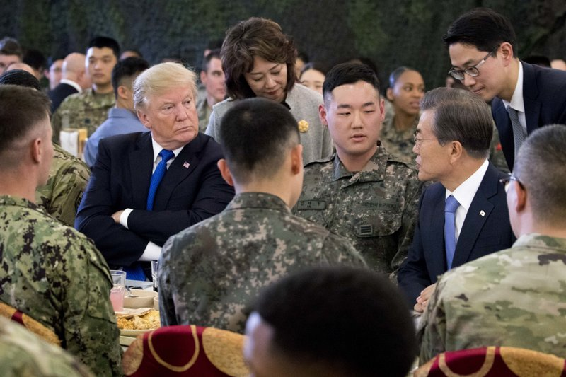 Donald Trump, Moon Jae-in