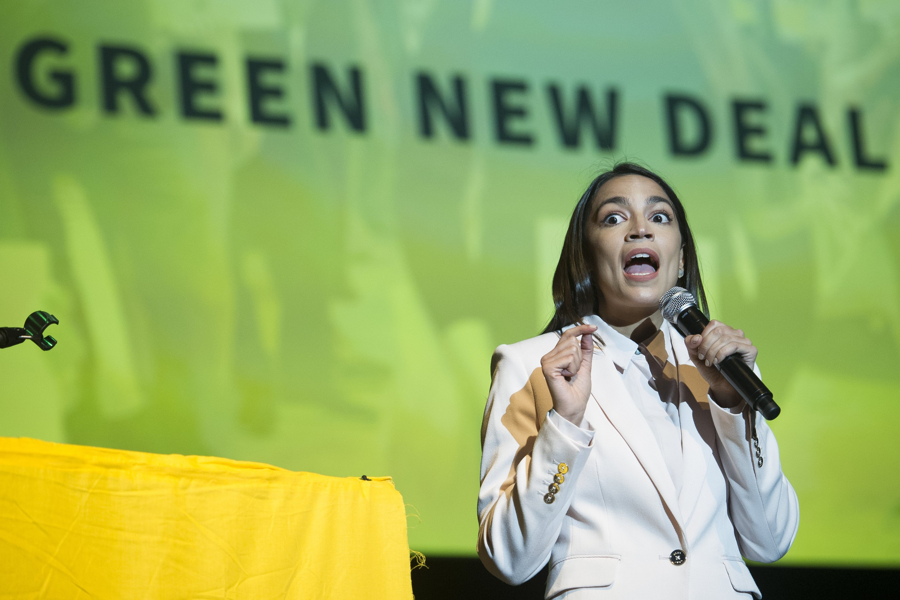 Ocasio-Cortez: No 'middle ground' on fighting climate change