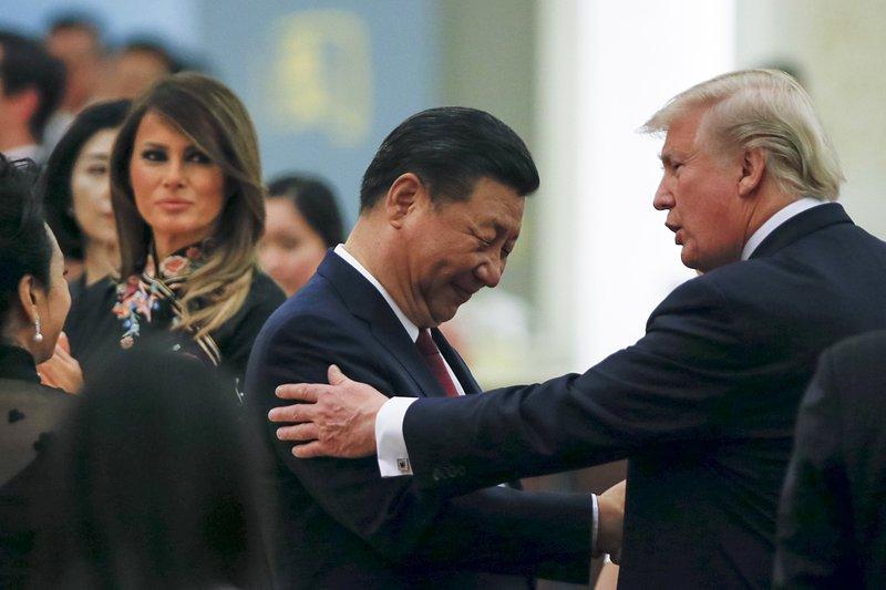 Xi Jinping, Donald Trump, Melania Trump