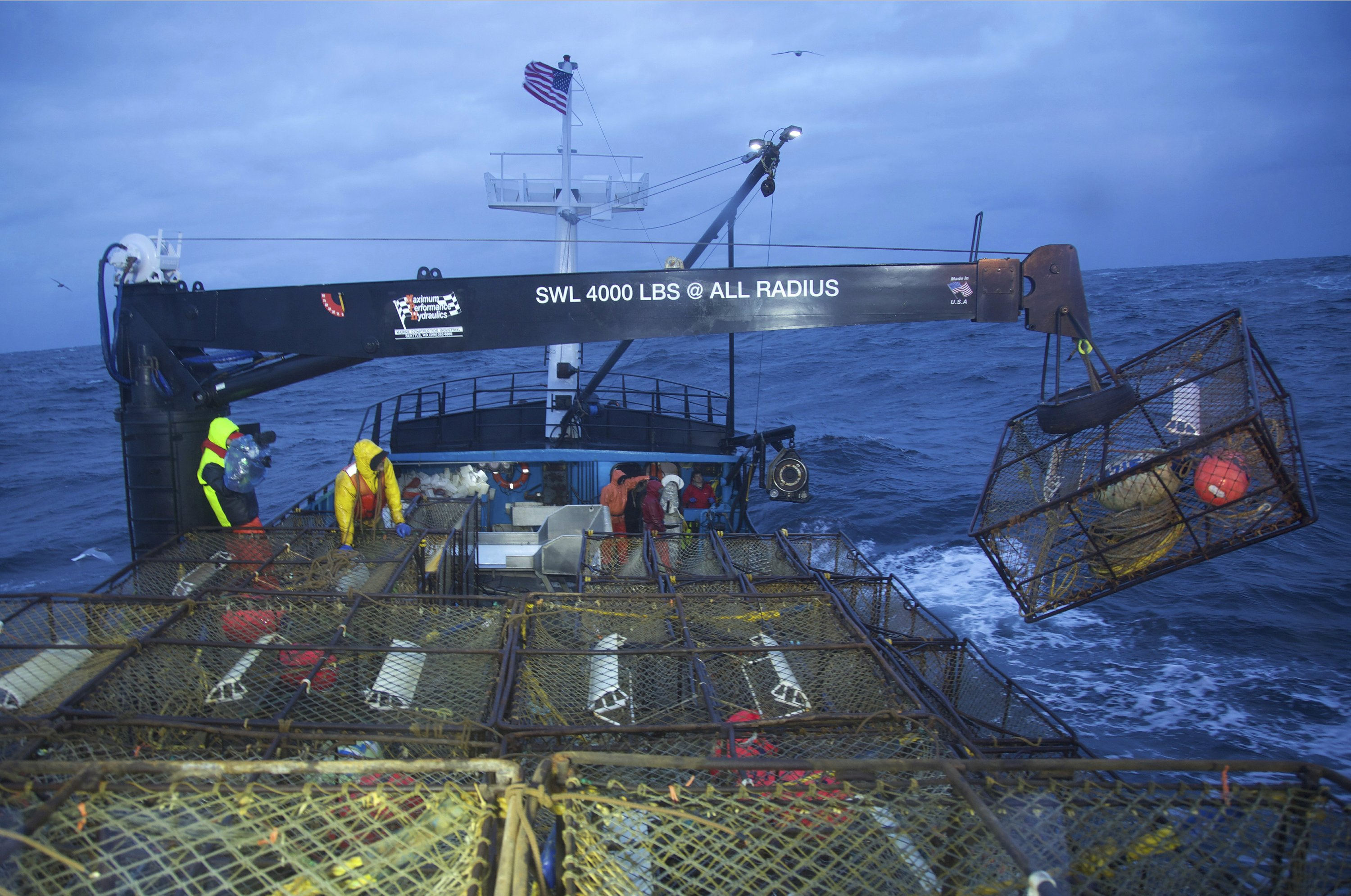 Climate change a character in Discovery's 'Deadliest Catch'