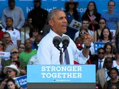 Obama Stumps for Clinton in Penn. Battleground