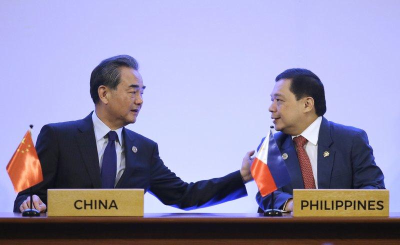 Wang Yi, Manuel Teehankee