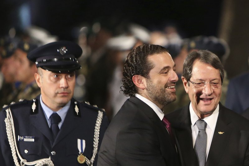 Saad Hariri, Nicos Anastasiades