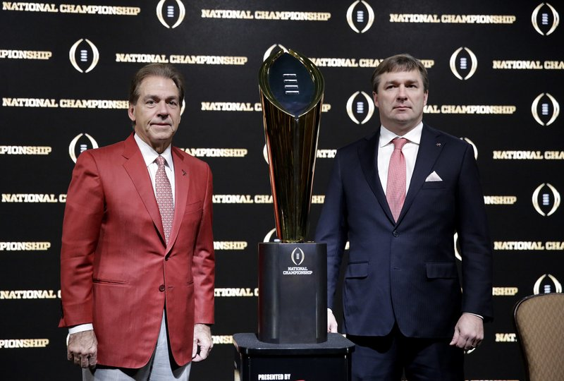 Kirby Smart, Nick Saban