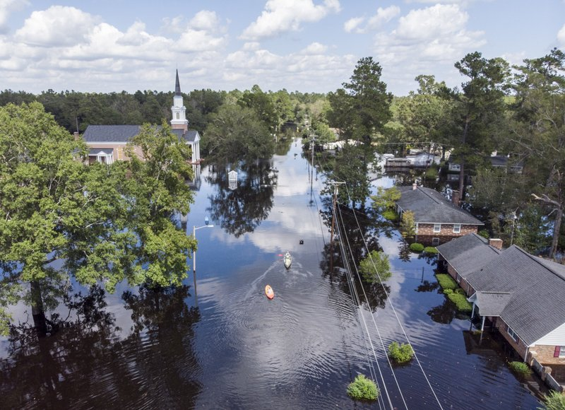 Florence-Triggered Flooding Washes Into South Carolina