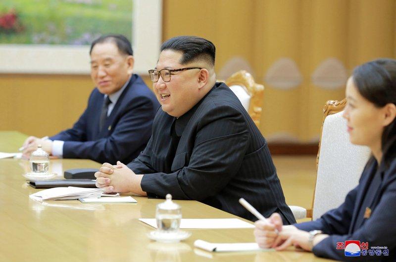 Kim Jong Un, Kim Yo Jong, Kim Yong Chol