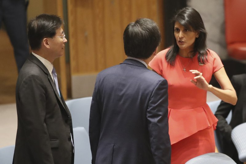 Nikki Haley, Cho Tae-yul