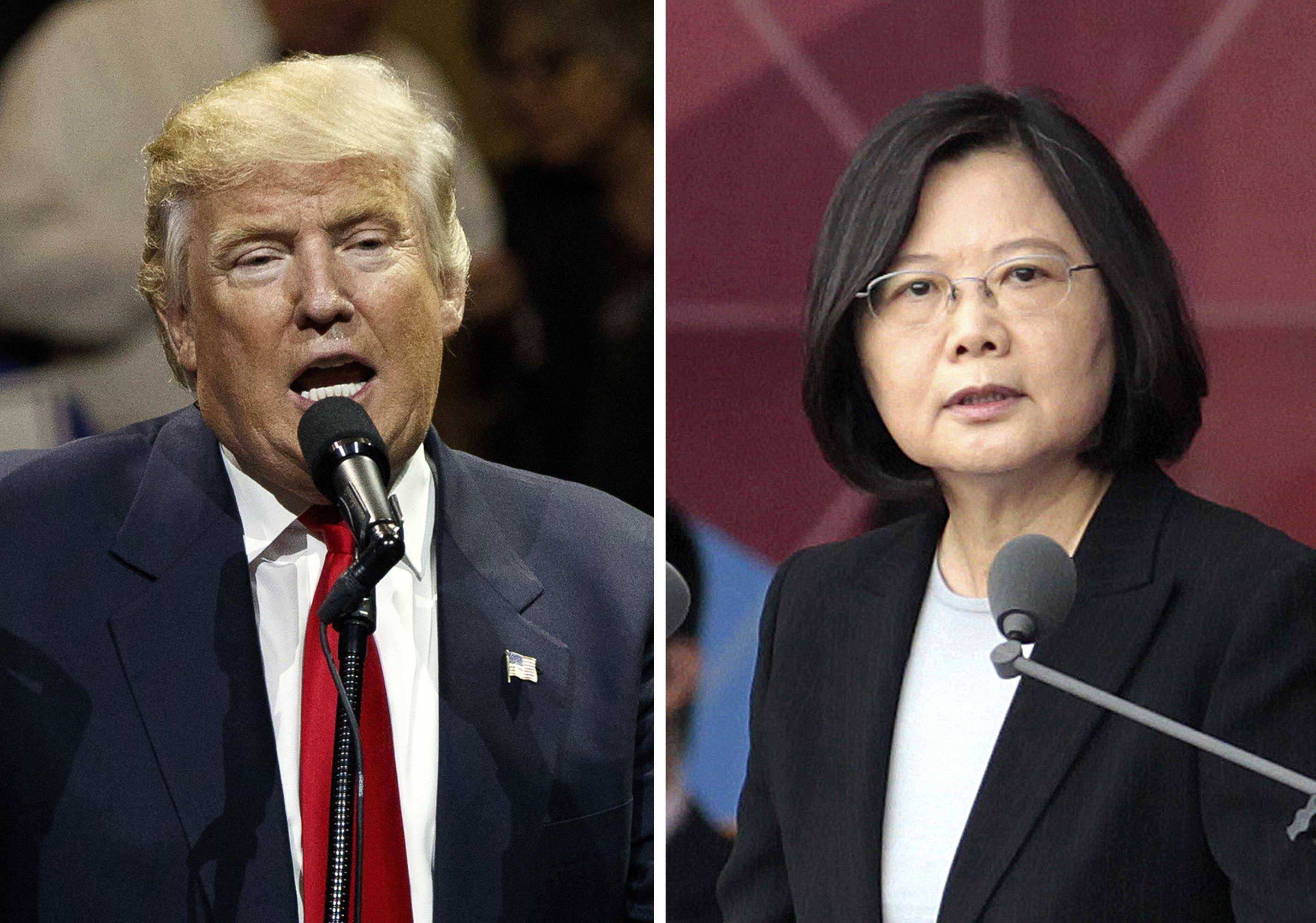 China says Trump's Taiwan comments cause 'serious concern'
