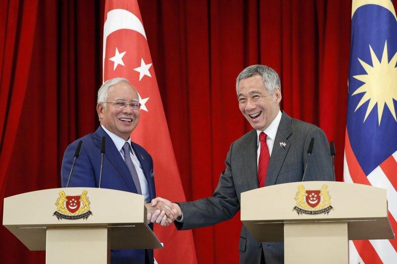 Lee Hsien Loong, Najib Razak