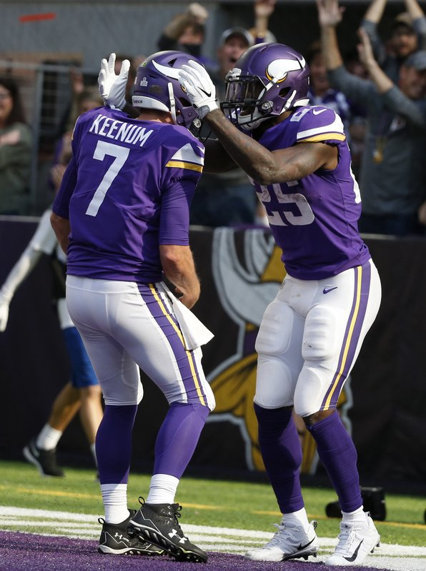 Latavius Murray, Case Keenum