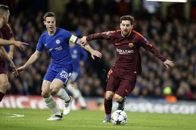 Lionel Messi, Cesar Azpilicueta