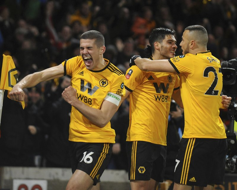 great fit 12fcd d68cd FA Cup run hardens Wolves' status in English soccer