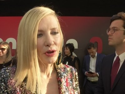 Blanchett: Spade's death 'terribly shocking'