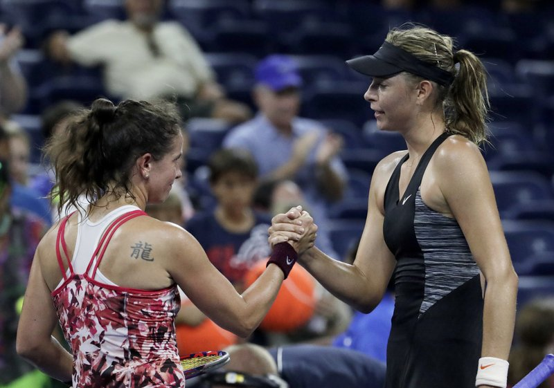 Patty Schnyder, Maria Sharapova