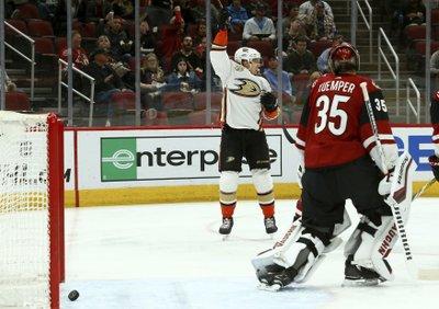 74cfd6b9b Henrique, Terry score as Ducks end Coyotes' win streak