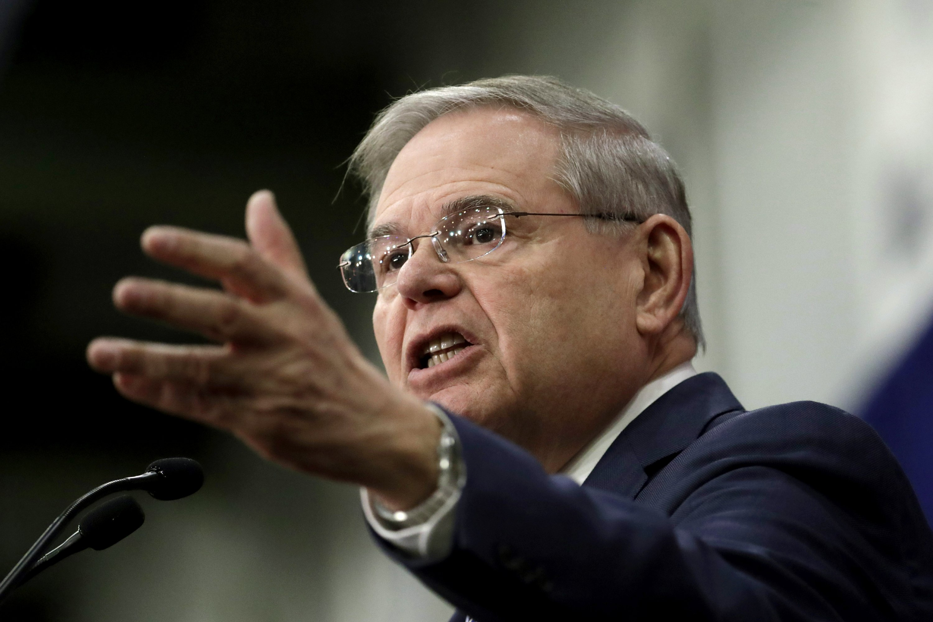 Menendez and Hugin set sights on each other in Senate race