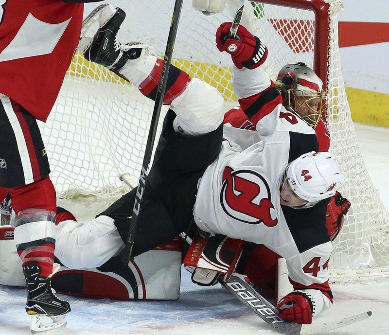 Senators Devils