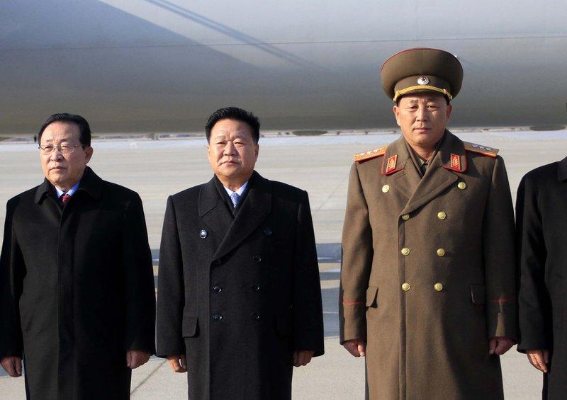 Choe Ryong Hae, Kim Kye Gwan, No Kwang Chol