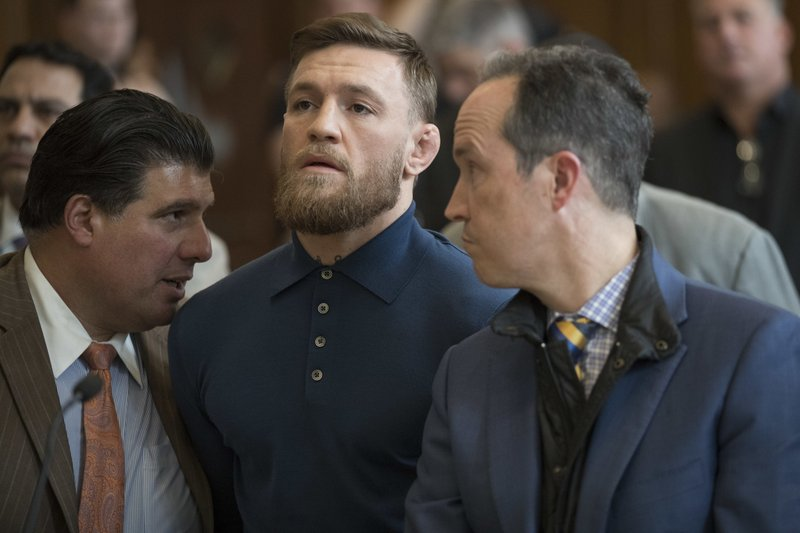 Conor McGregor, Jim Walden, John Arlia