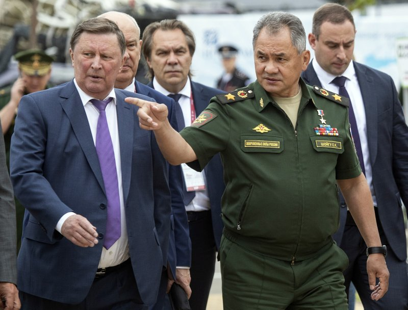 Sergei Shoigu, Sergei Ivanov