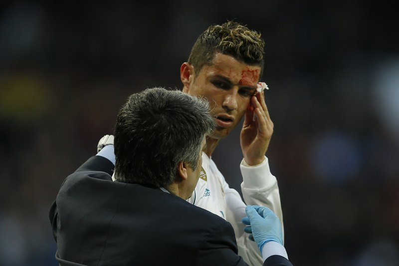 Blood Goals For Ronaldo As Madrid Scores 7 To End Poor Run
