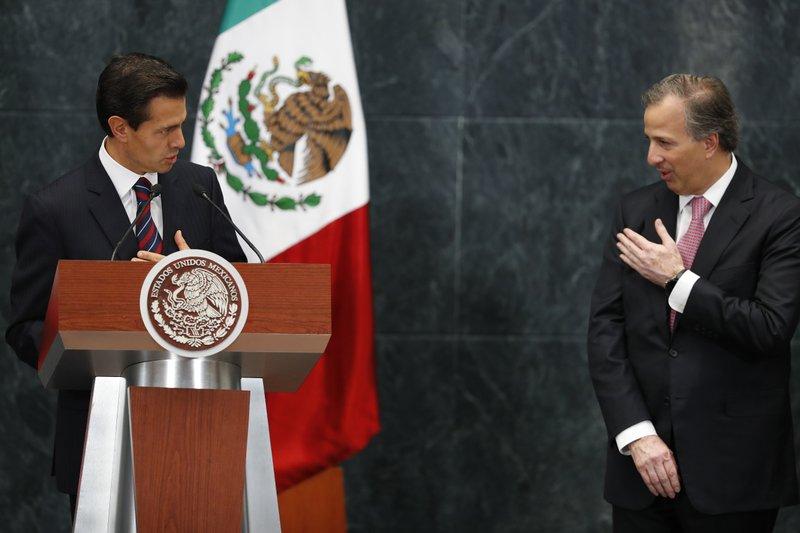 Enrique Pena Nieto, Jose Antonio Meade,