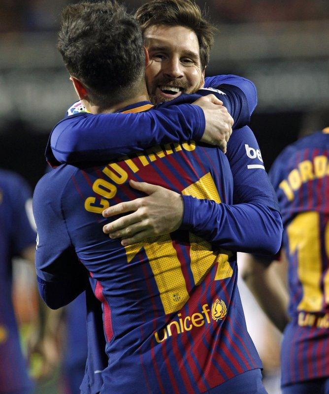Coutinho, Lionel Messi
