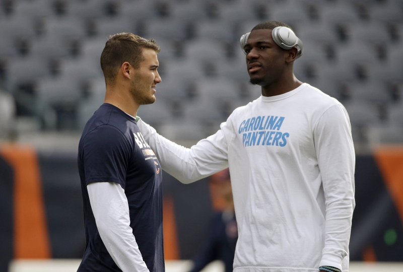 Devin Funchess, Mitchell Trubisky