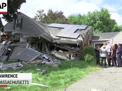 Mass. governor tours site of deadly gas explosion