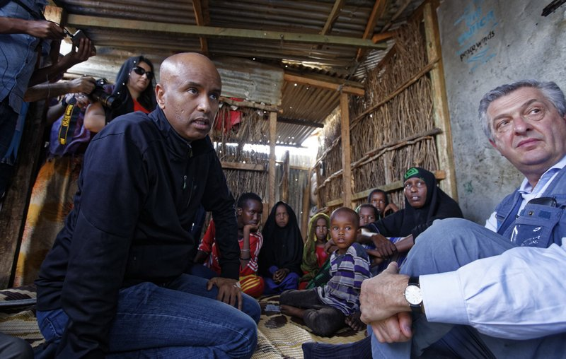 Filippo Grandi, Ahmed Hussen