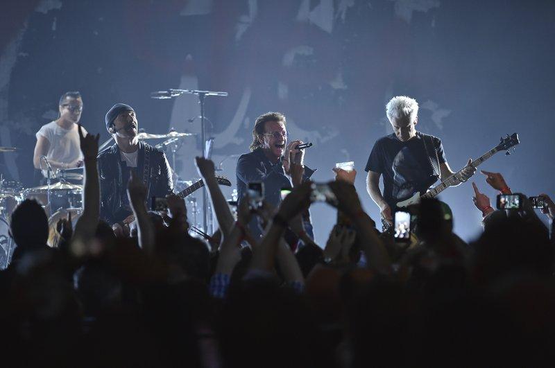 Larry Mullen Jr, The Edge, Bono, Adam Clayton