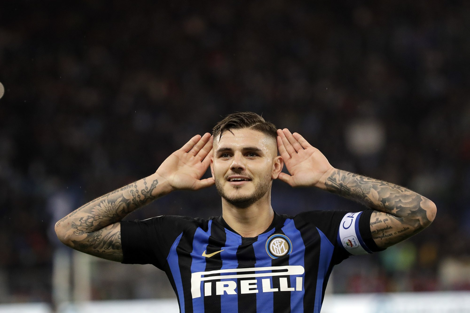 Image result for gol icardi lazio 2018