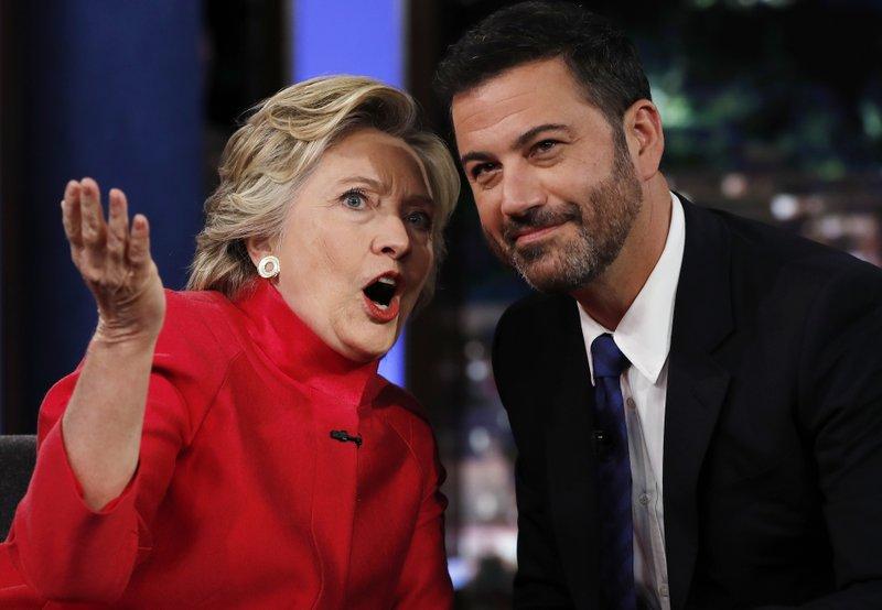 Hillary Clinton,Jimmy Kimmel