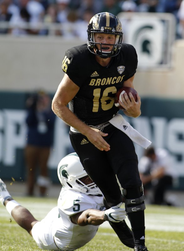 best sneakers 6d69a 620ce Michigan State defense strong again in 28-14 win over WMU