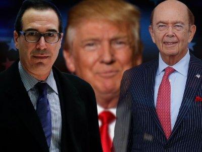 Trump Taps Mnuchin, Ross for Key Economic Spots