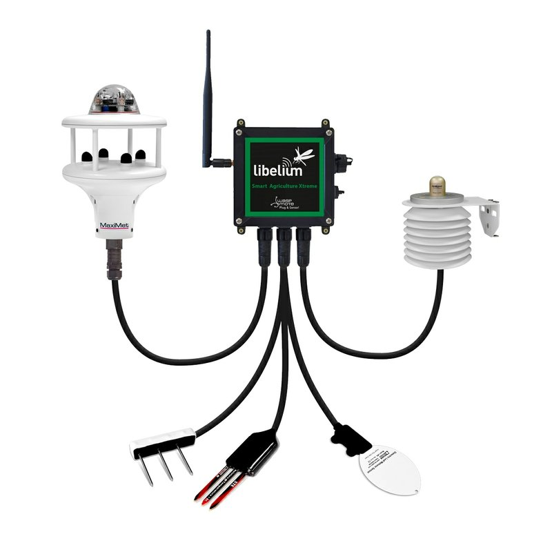 Libelium's new Smart Agriculture Sensor Node Provides Maximum Accuracy for Crop Monitoring