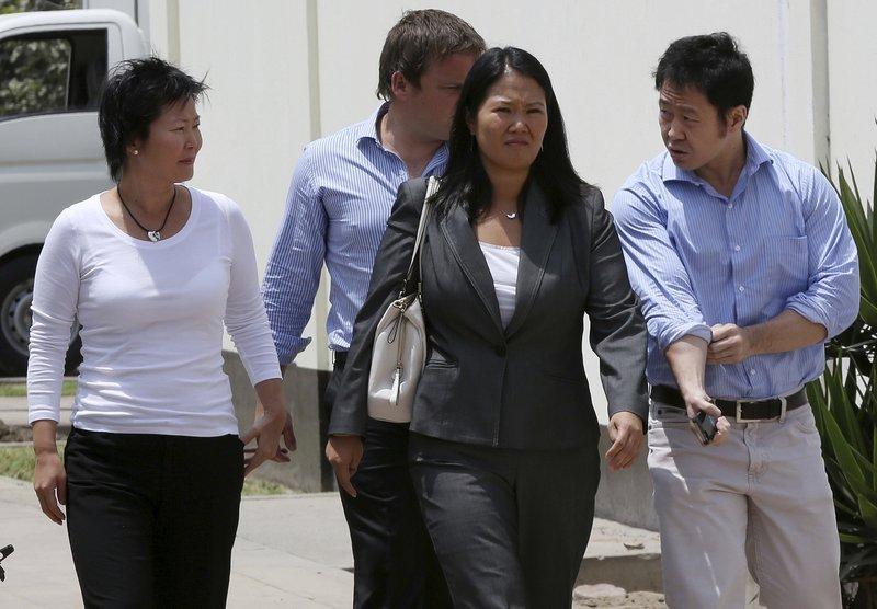 Kenji Fujimori, Sachi Fujimori, Keiko Fujimori