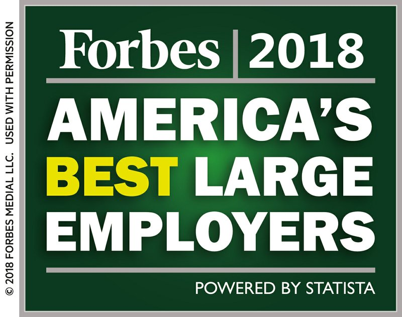 Navy Federal Earns Top 10 Spot on Forbes' List of America's Best Employers