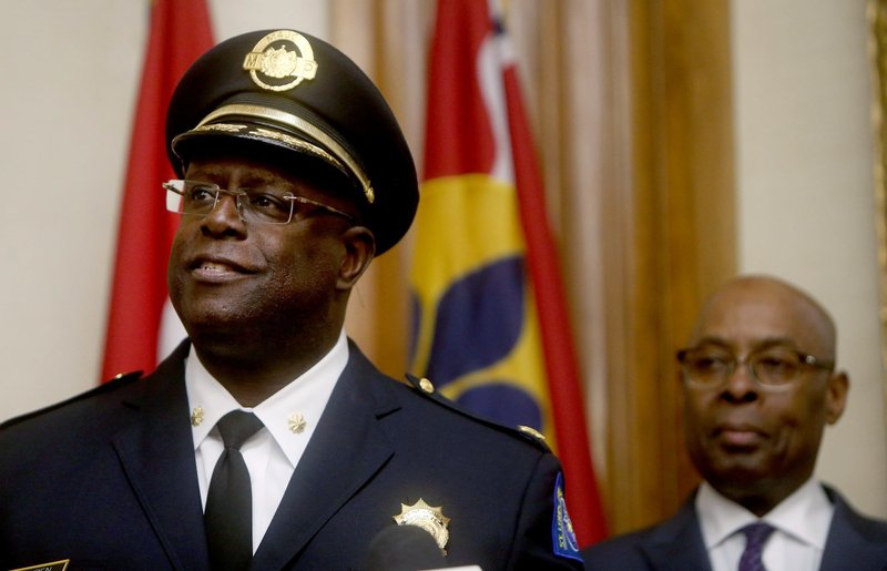 New city of St. Louis police chief, John Hayden