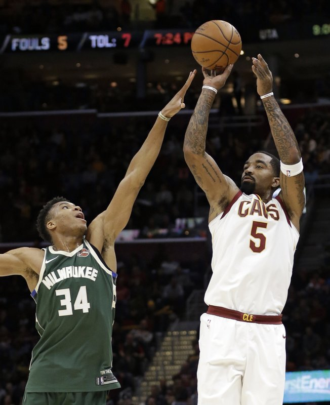 Giannis Antetokounmpo, JR Smith