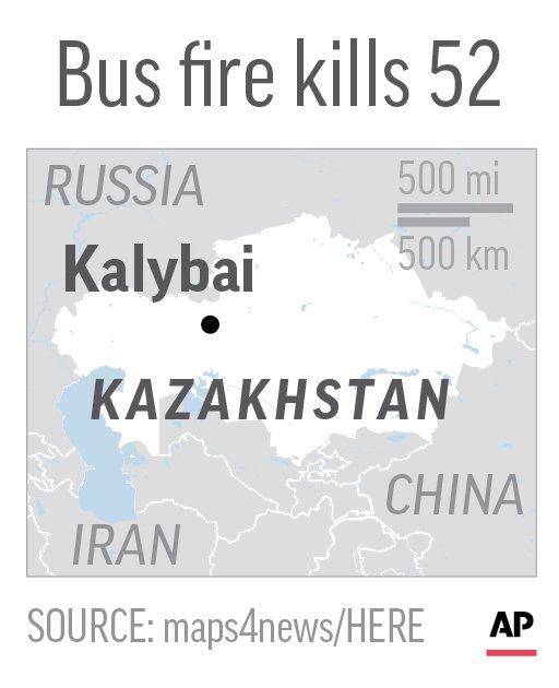 KAZAKHSTAN BUS