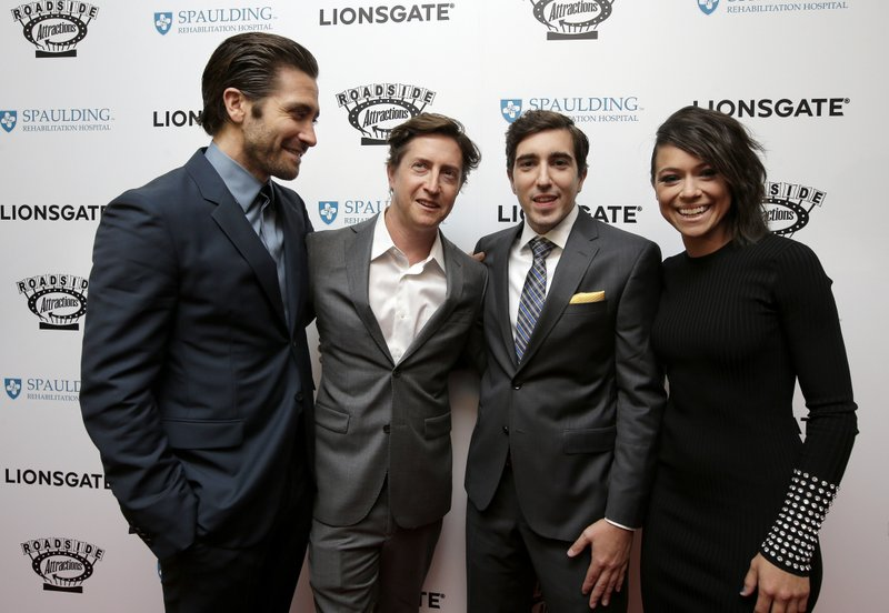 Jake Gyllenhaal, David Gordon Green, Jeff Bauman, Tatiana Maslany