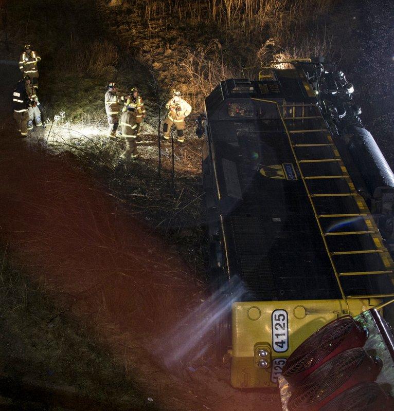 BC-MI--Train Derailment-Michigan