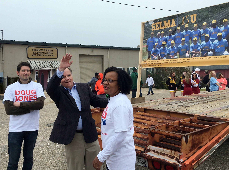 The Latest Alabama Senate Candidate Jones Seeks Black Votes Jacie Shirt