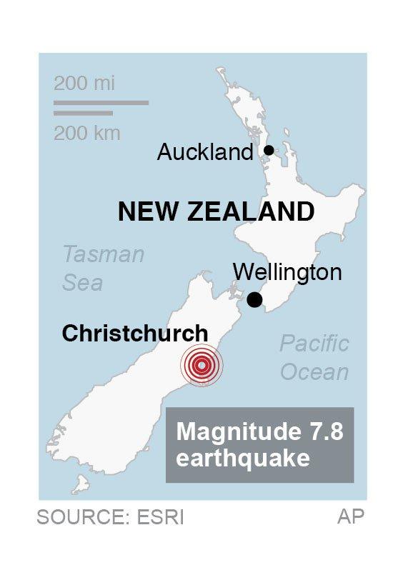 NEW ZEALAND QUAKE 2