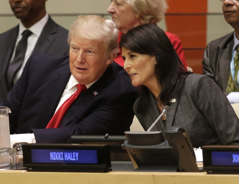Nikki Haley, Donald Trump
