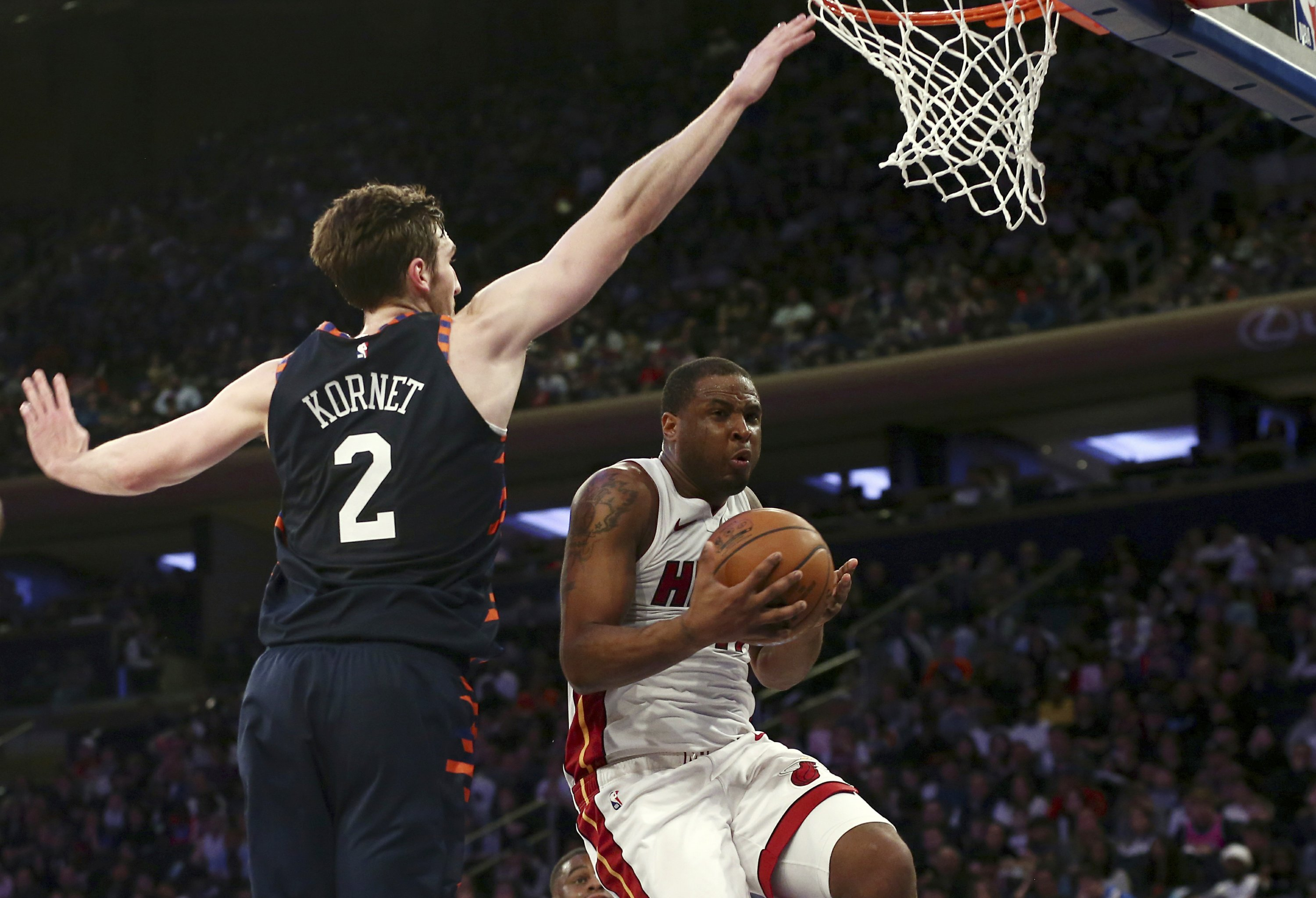 89967869a6d Heat beat Knicks in Wade's final Madison Square Garden game