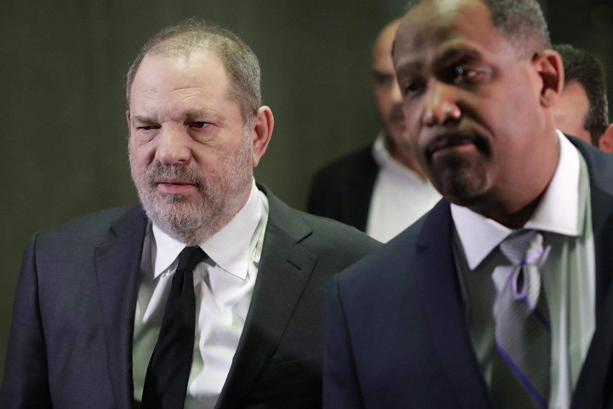 News groups fight to keep Harvey Weinstein's hearing open