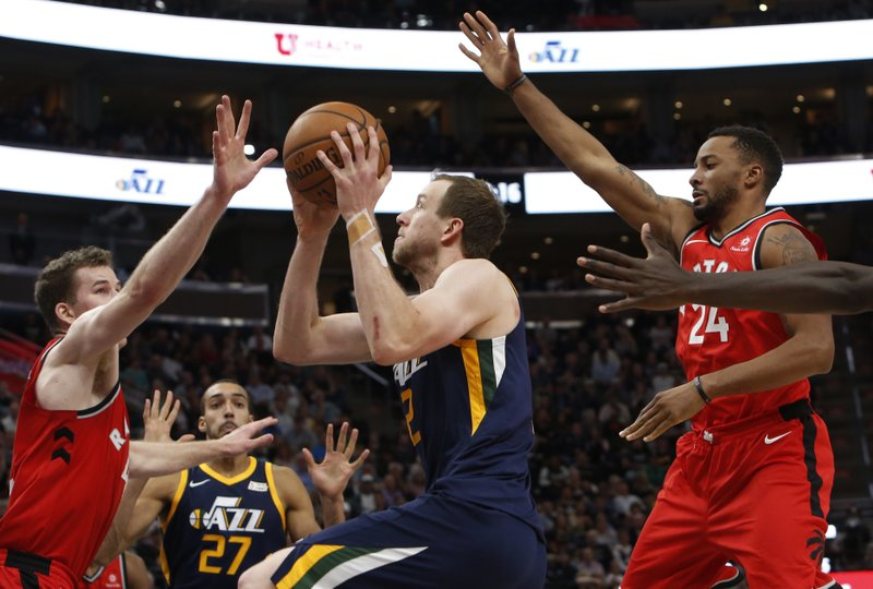 Joe Ingles, Jakob Poeltl, Norman Powell
