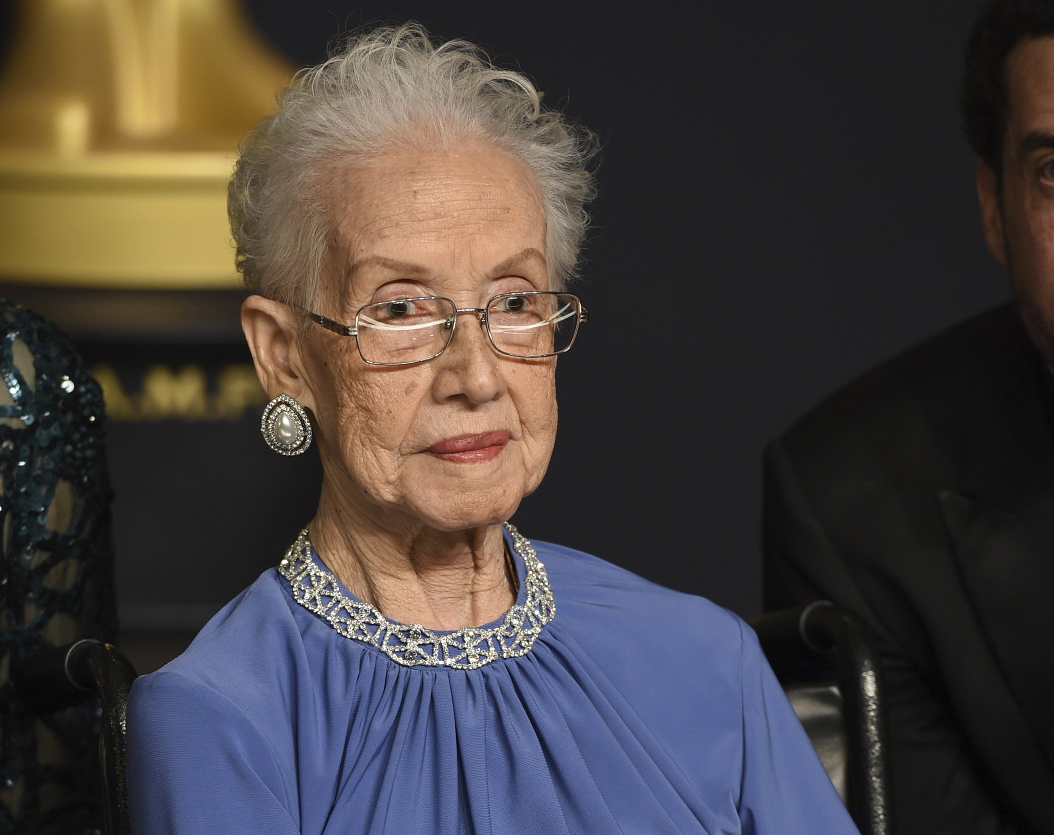 NASA mathematician Katherine Johnson being honored in bronze